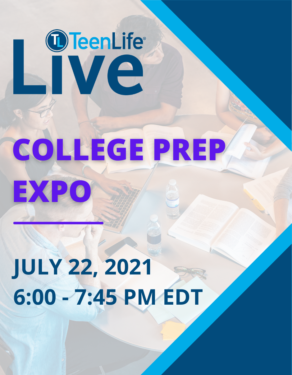 College Prep Expo, July 22, 2021-TeenLife