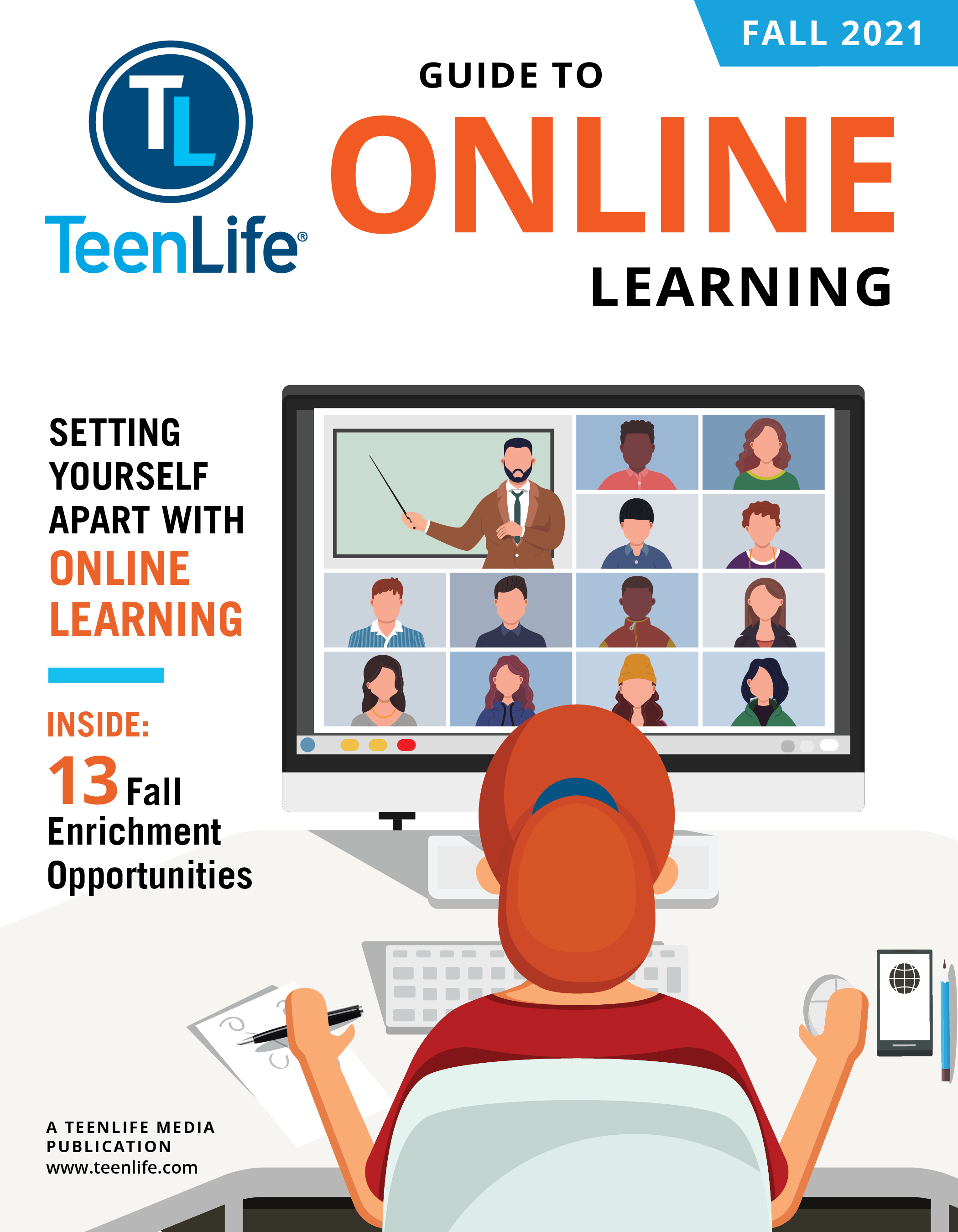 Guide to Online Learning: Fall 2021-TeenLife