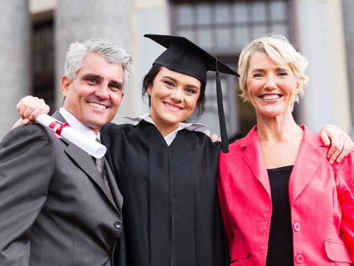 Teen Graduating