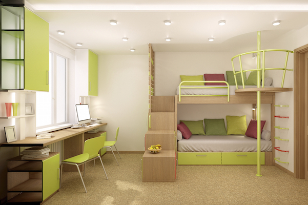 Consider a specialty college dorm