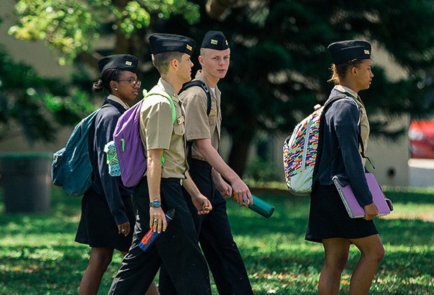 At Farragut, Military School Training Develops The Right College Skills