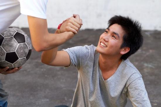 sportsmanship in teens