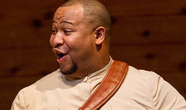 Clayton Mathews studies opera at Mason Gross School of the Arts at Rutgers University.