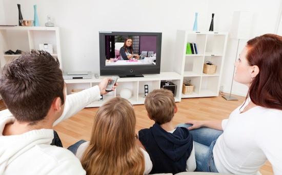 Watching tv technology