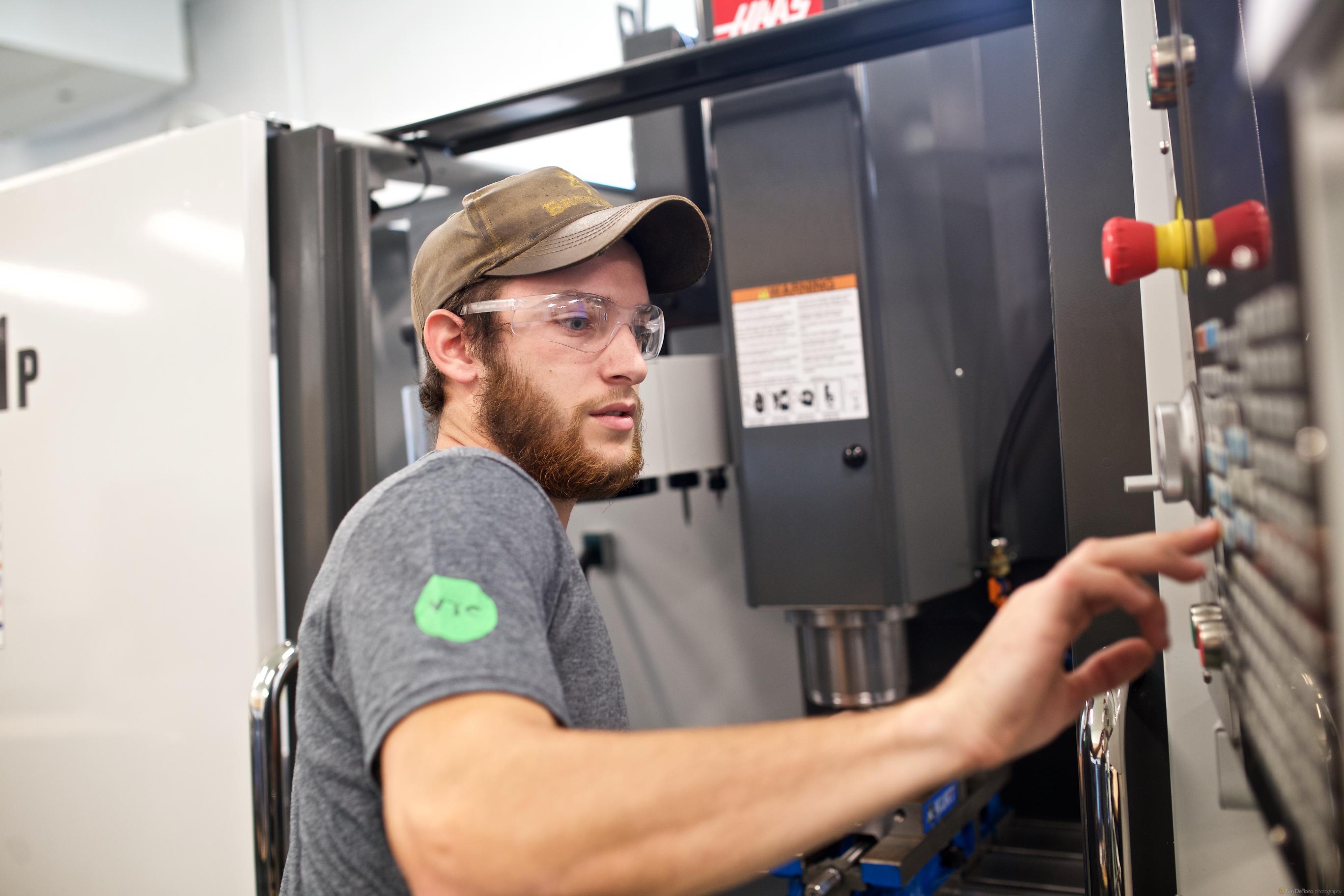 Vermont Technical College: Manny Aretakis