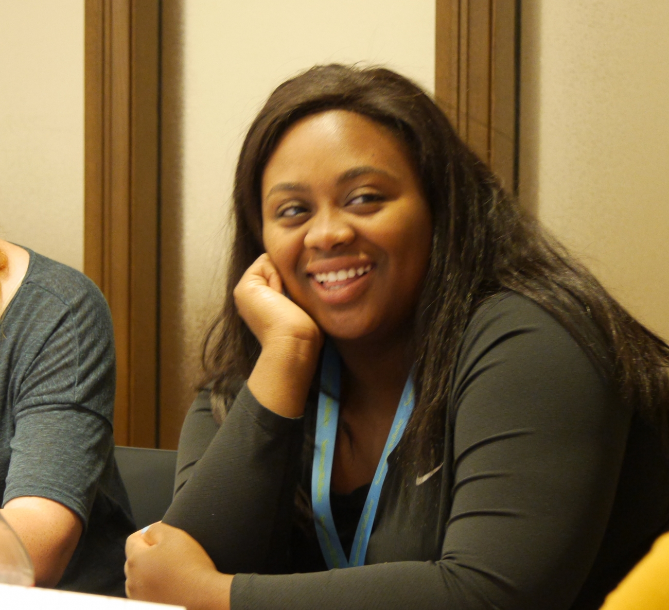 Olivia Collymore participated in a summer writing class through Wellesley College's Pre-College Exploratory Workshop.