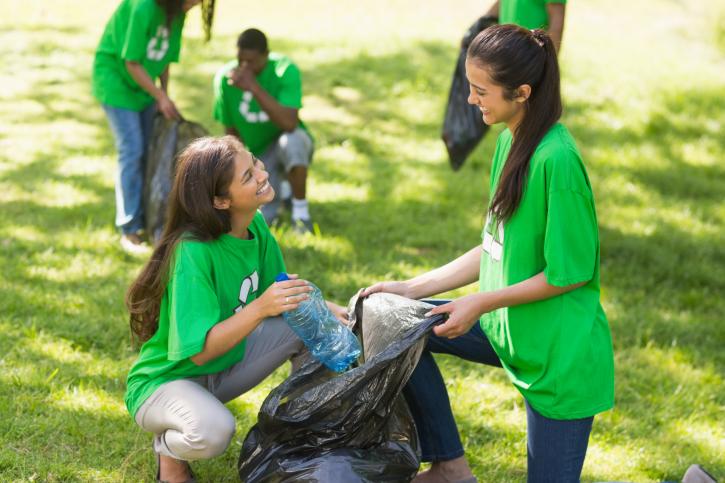 volunteering during middle school