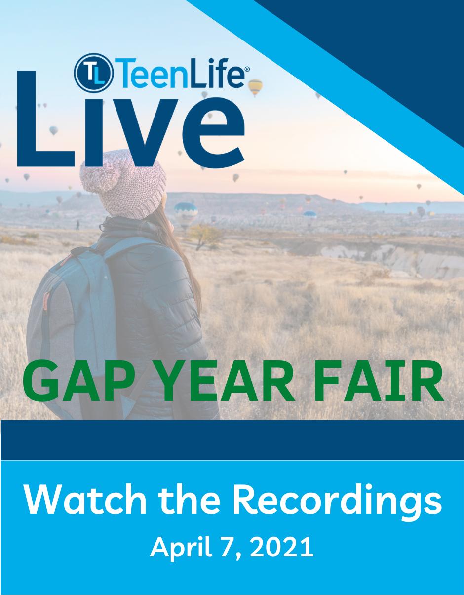 Gap Year Fair, April 7, 2021