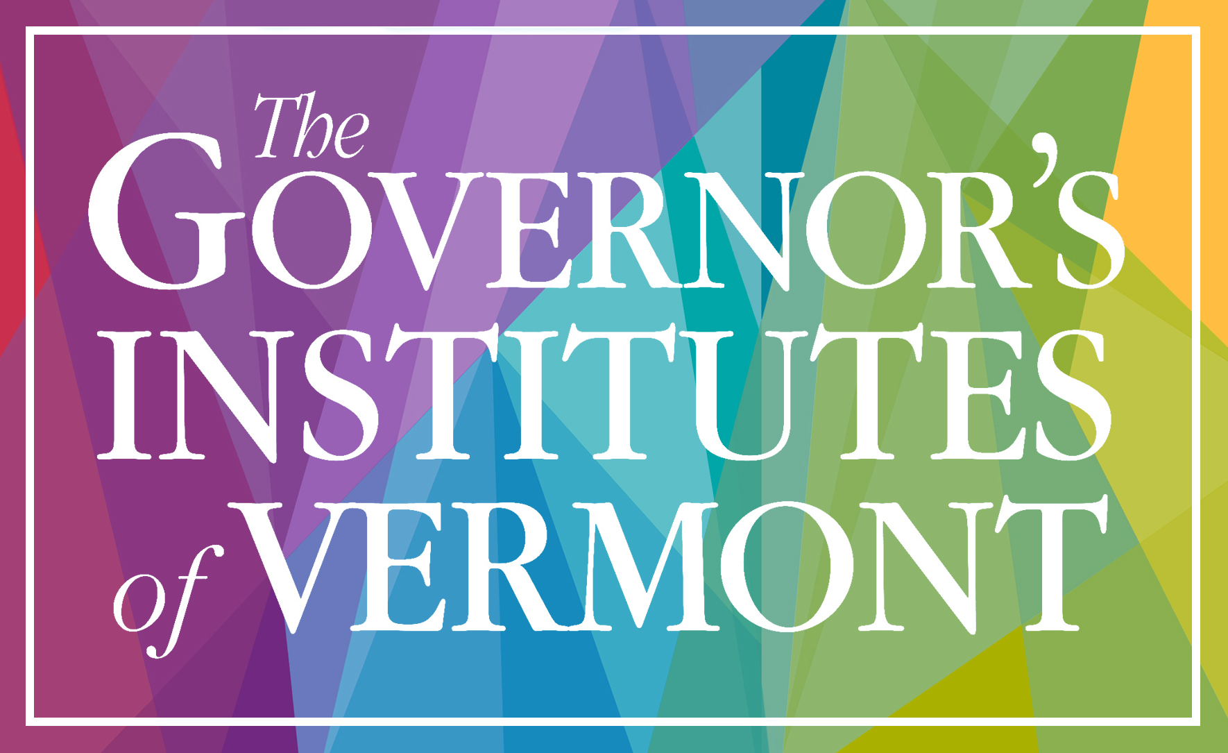The Governor's Institutes of Vermont