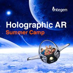 Holographic AR Design & Programming Summer Camp at Palo Alto