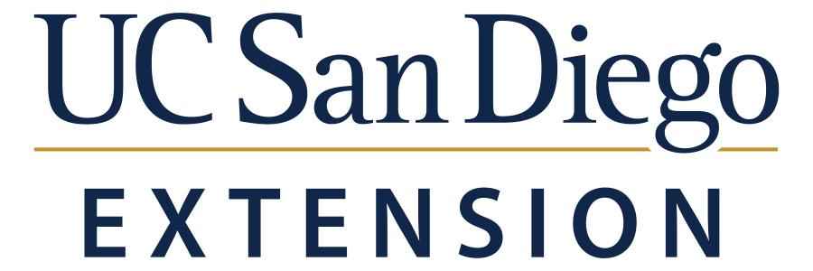 UC San Diego Extension: Test Prep