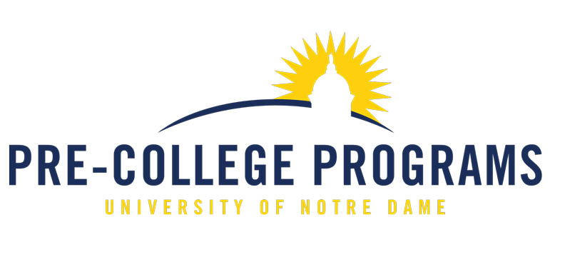 University of Notre Dame Pre-College Programs: Summer Scholars