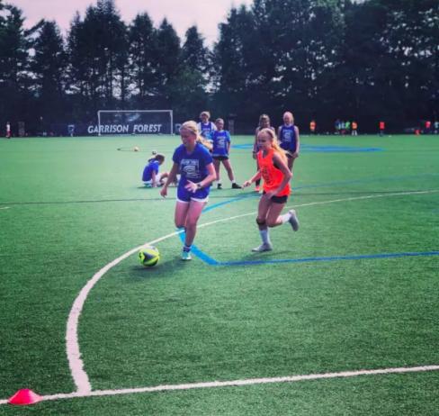 Coerver Coaching Girls' Soccer Overnight Camp