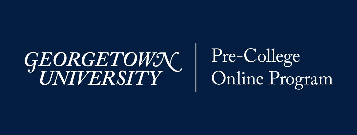 Georgetown Pre-College Online Program