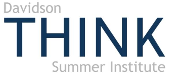 Davidson THINK Summer Institute