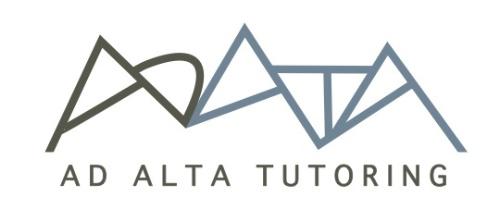AD Alta Tutoring