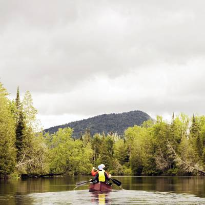 Summer Program - Canoeing | NOLS Adirondack Backpacking and Canoeing Adventure