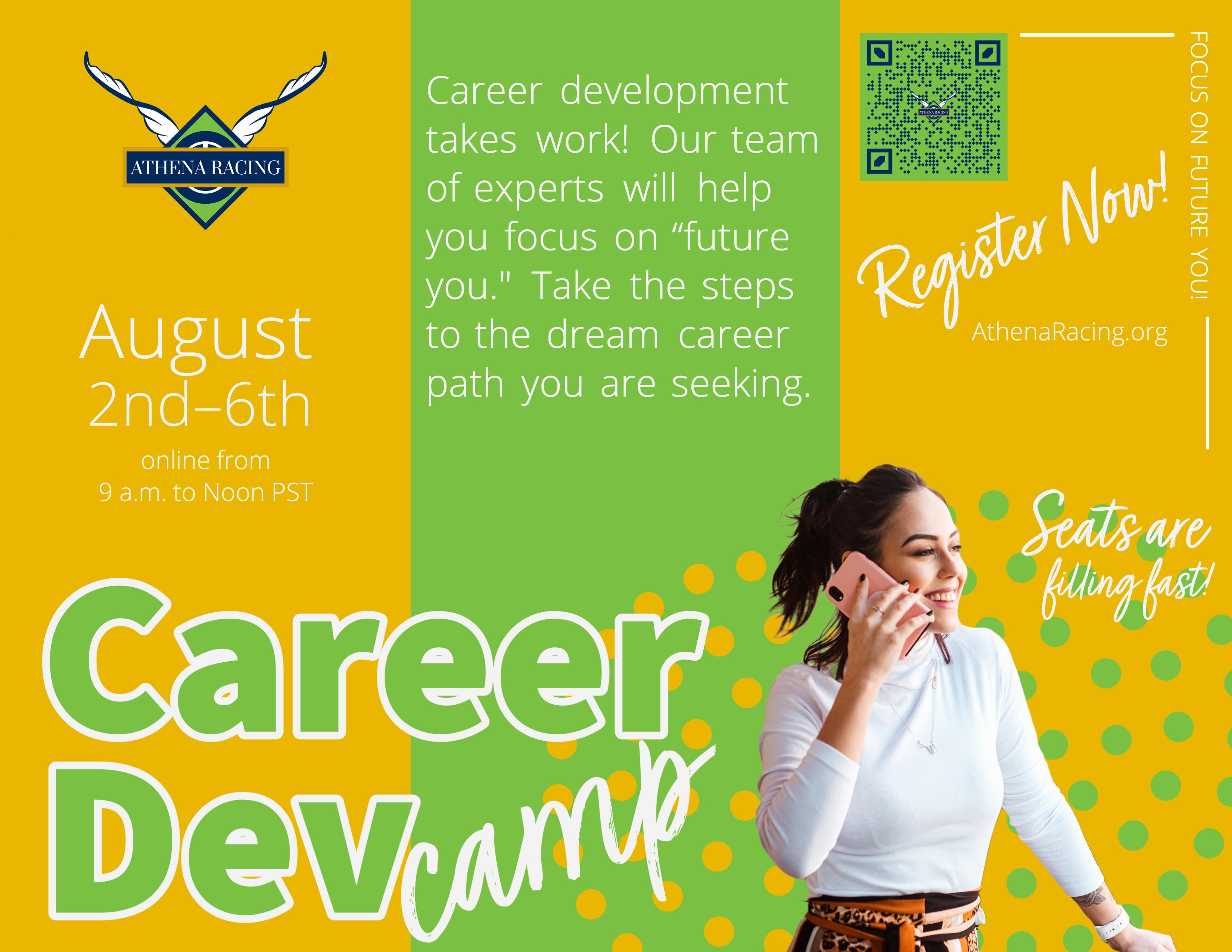 Summer Program -    Athena Racing: Career Development Camp