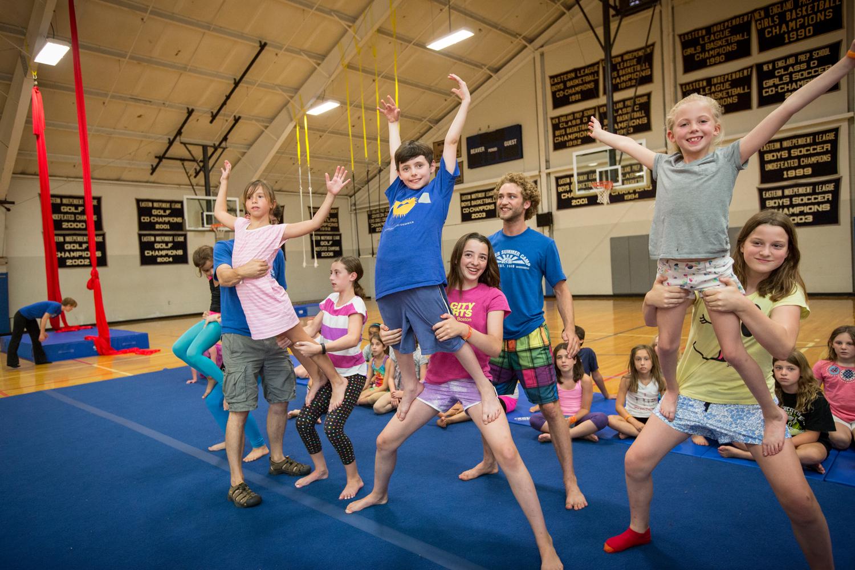 Summer Program - Circus Performing | Beaver Summer Camp: Boston Children's Circus
