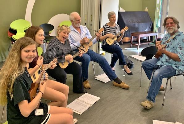 Washington Conservatory of Music: Beginning Ukulele