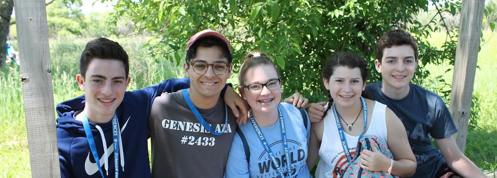 Summer Program - Jewish Culture | BBYO: CLTC at Beber Camp