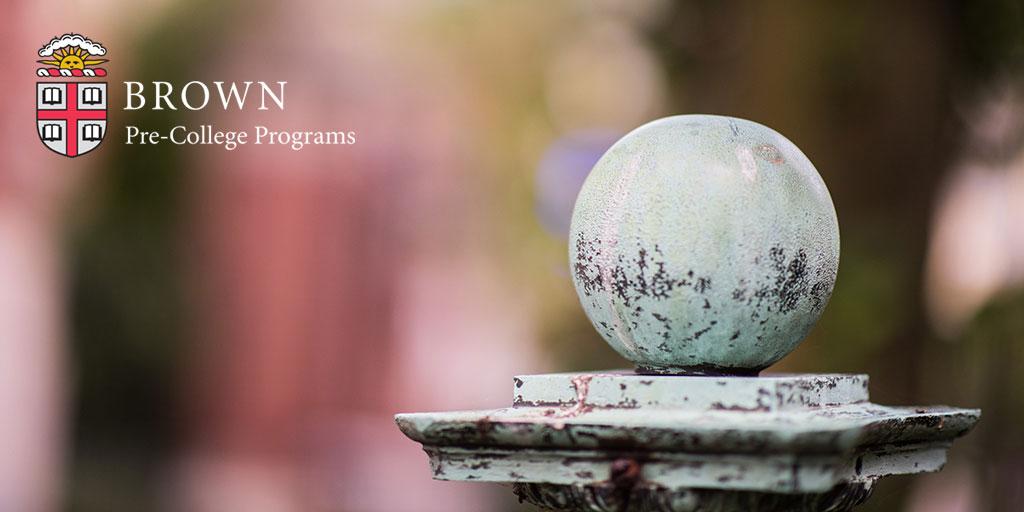 Summer Program - College Experience | Brown University Precollege Programs