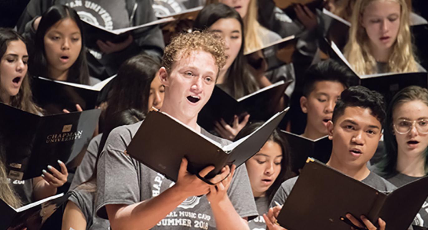 Chapman University: Choral Music Camp