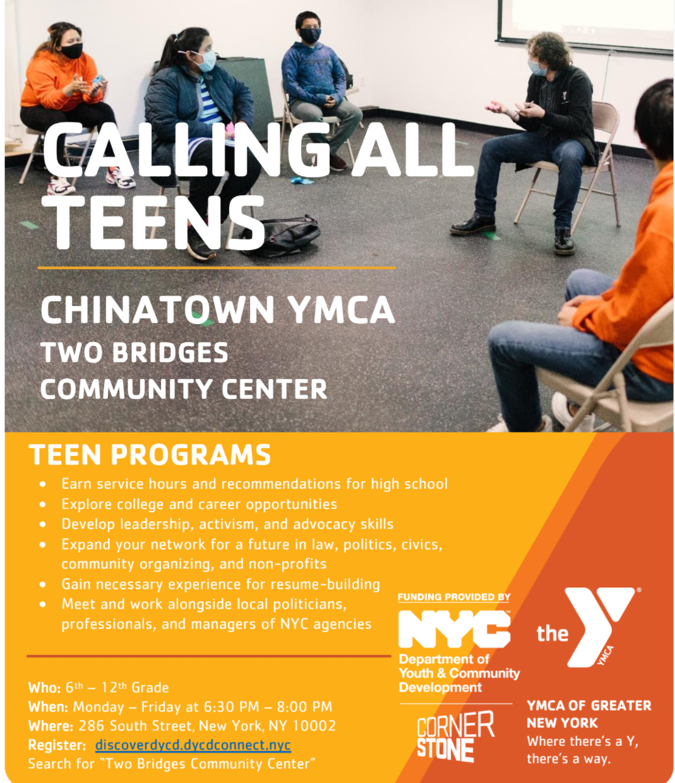 Chinatown YMCA: Leaders Club