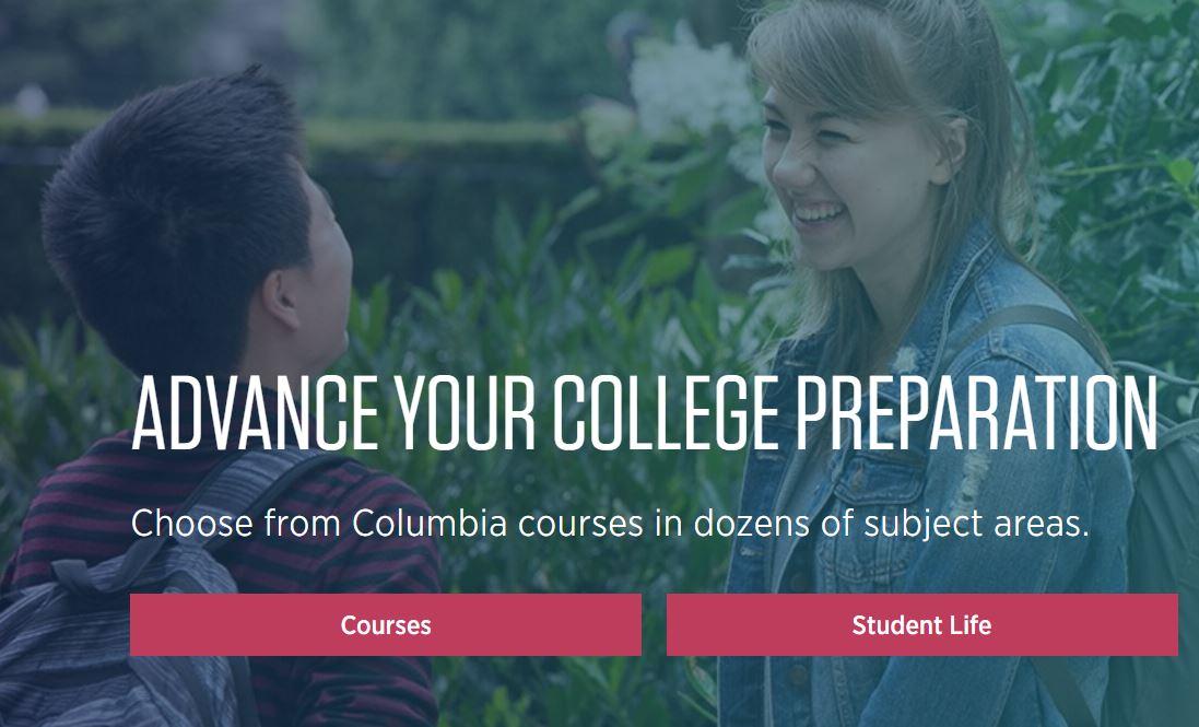 "Summer Program - Writing | Columbia University: Online ""College Edge"" Summer Sessions"