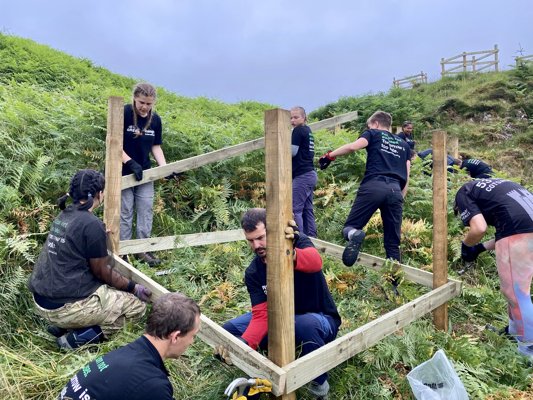Combat Climate Change with Raleigh International in Scotland