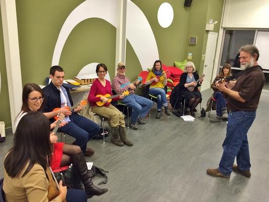 Washington Conservatory of Music: Continuing Ukulele