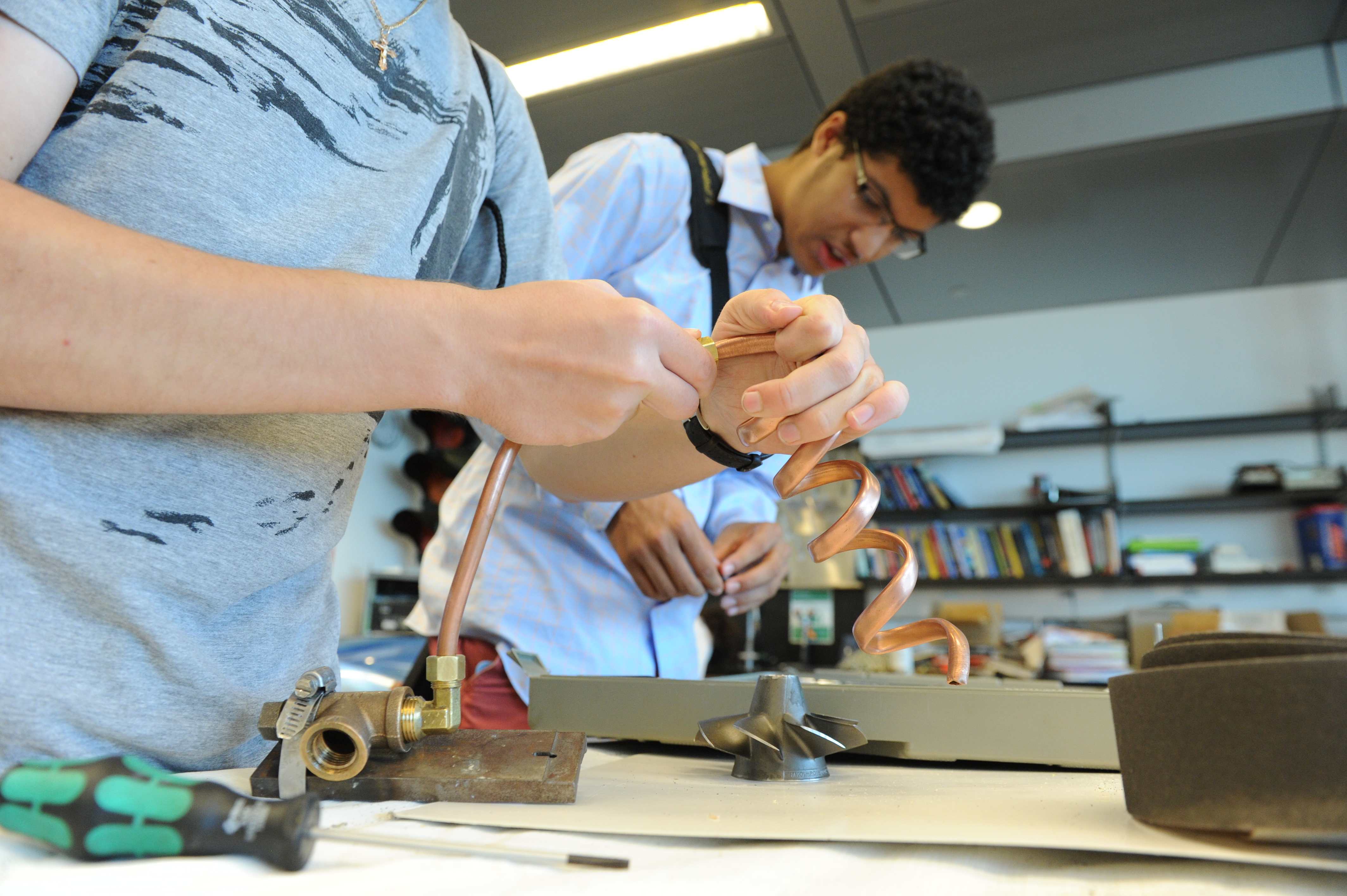 Summer Program - Engineering   Cooper Union Summer STEM Program