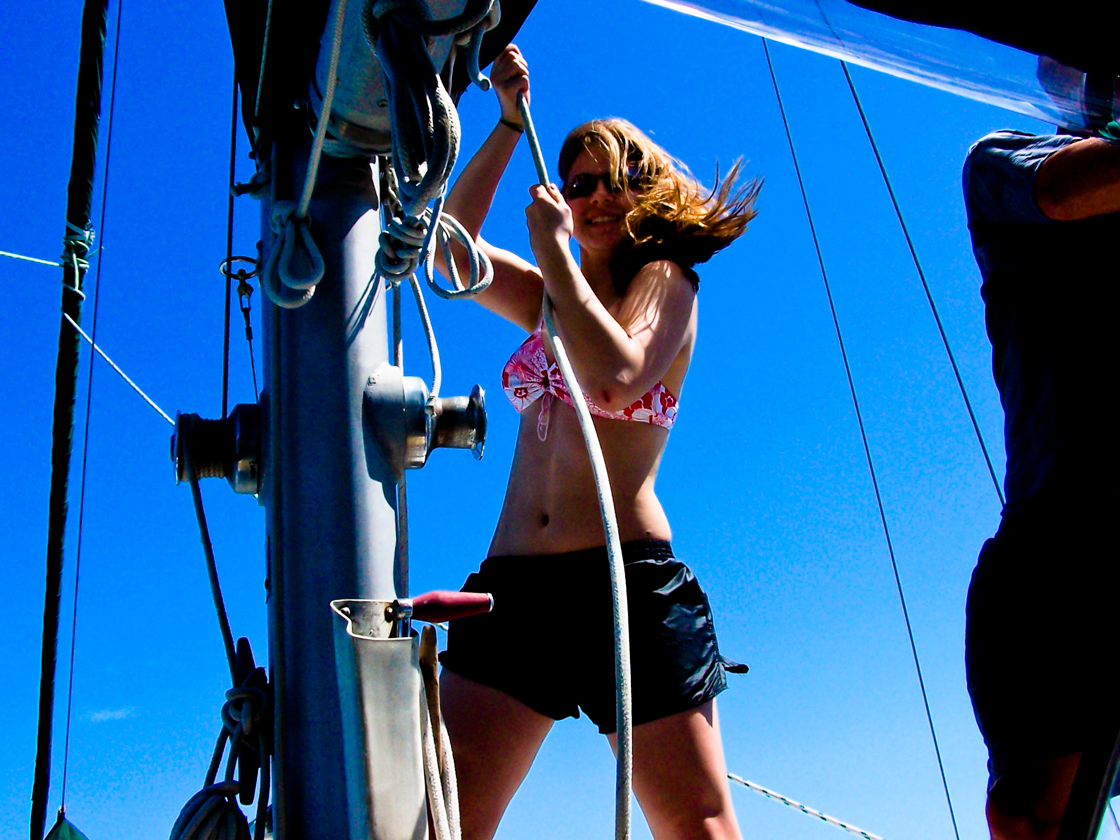 Different Drum Sailing Adventures: Hands-on, live-aboard sailing adventures for MS/HS students and teachers!