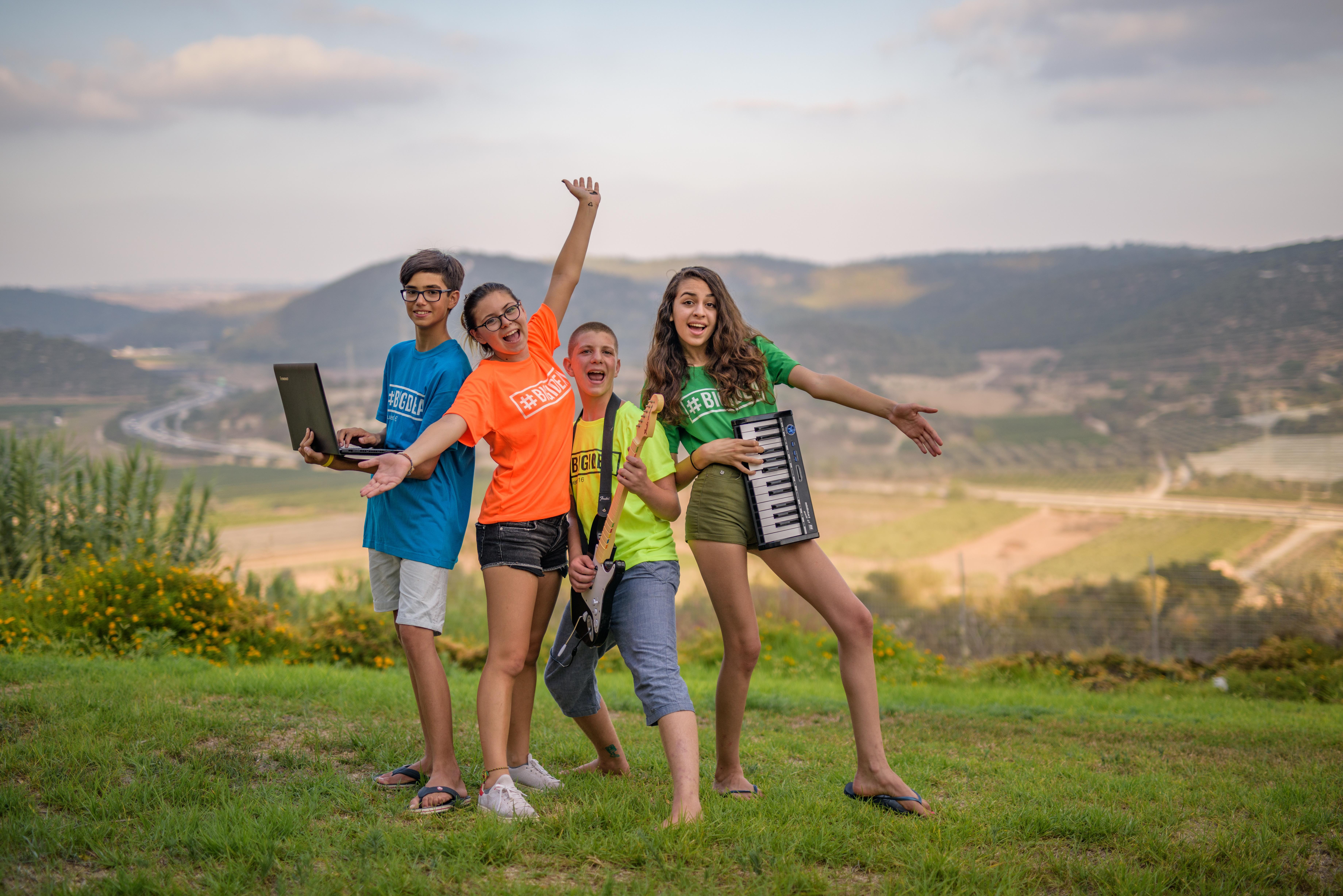 Summer Program - Jewish Culture | BIG IDEA Israeli Summer Camps
