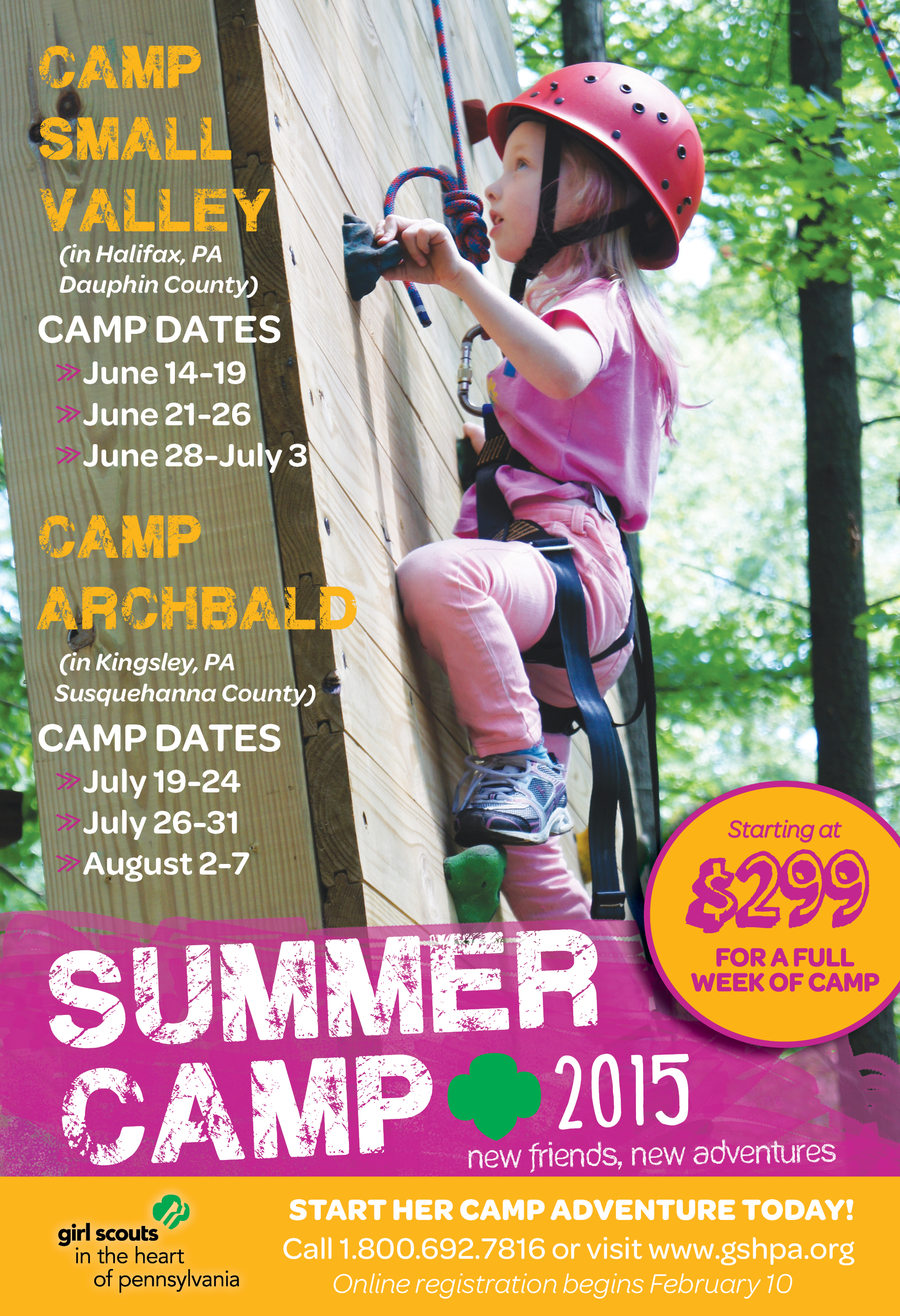 Summer Program - Hiking | Girl Scouts in the Heart of Pennsylvania
