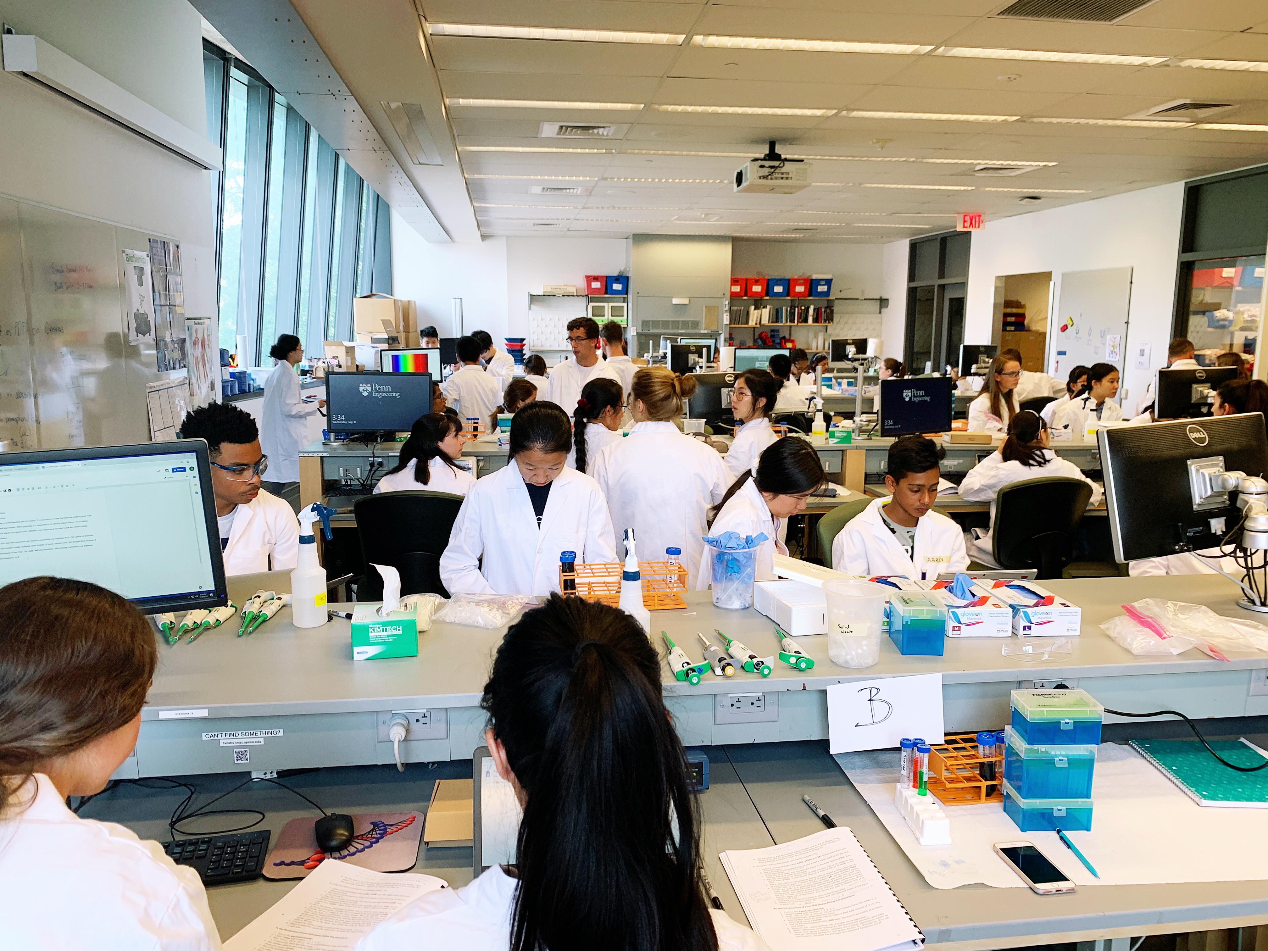 Summer Program - Coding | Engineering Summer Academy at Penn