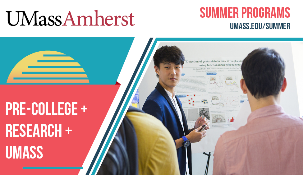 UMass Amherst Pre-College: Entrepreneurship – Becoming a Game-Changer