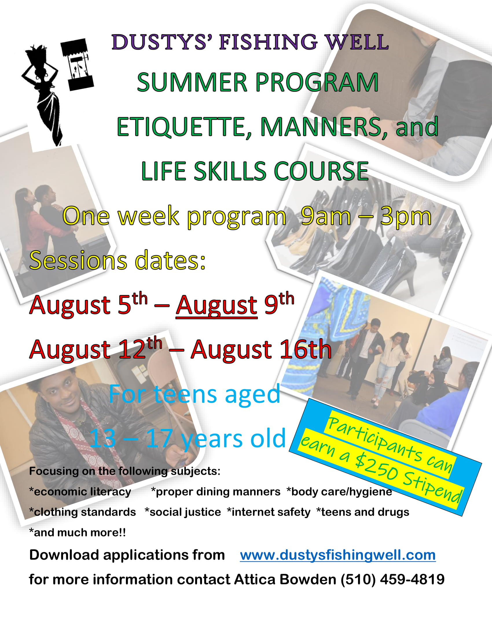 Etiquette, Manners and Life Skills Workshops