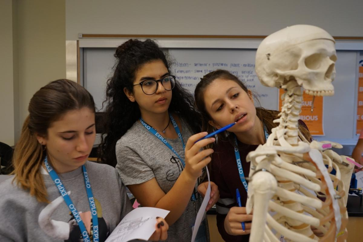 EXPLO Pre-College + Career (Grades 10–12): Crime Scene Investigation + Forensic Science