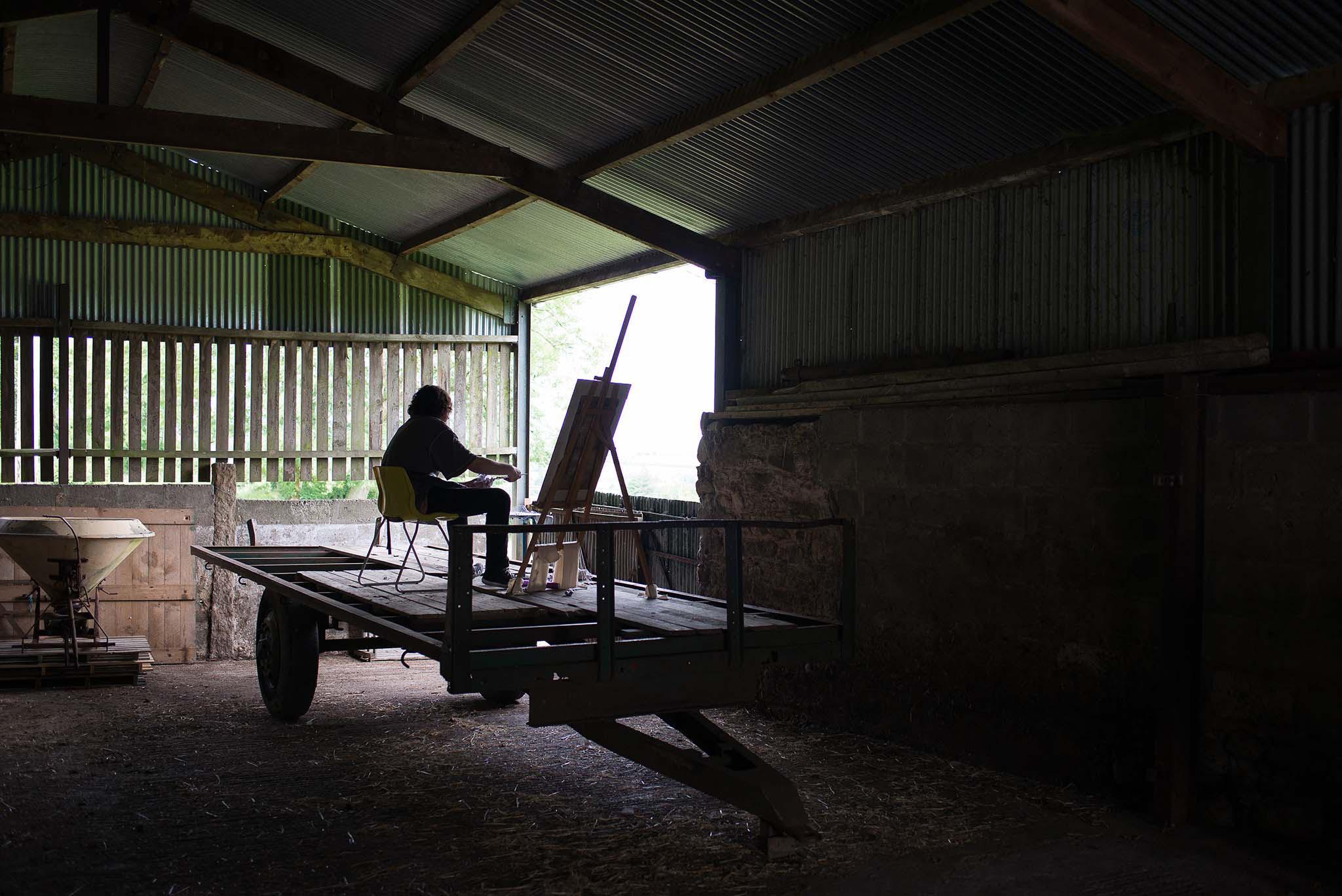 Gap Year Program - Cow House Studios: FieldWorks Gap Year Art Program  6