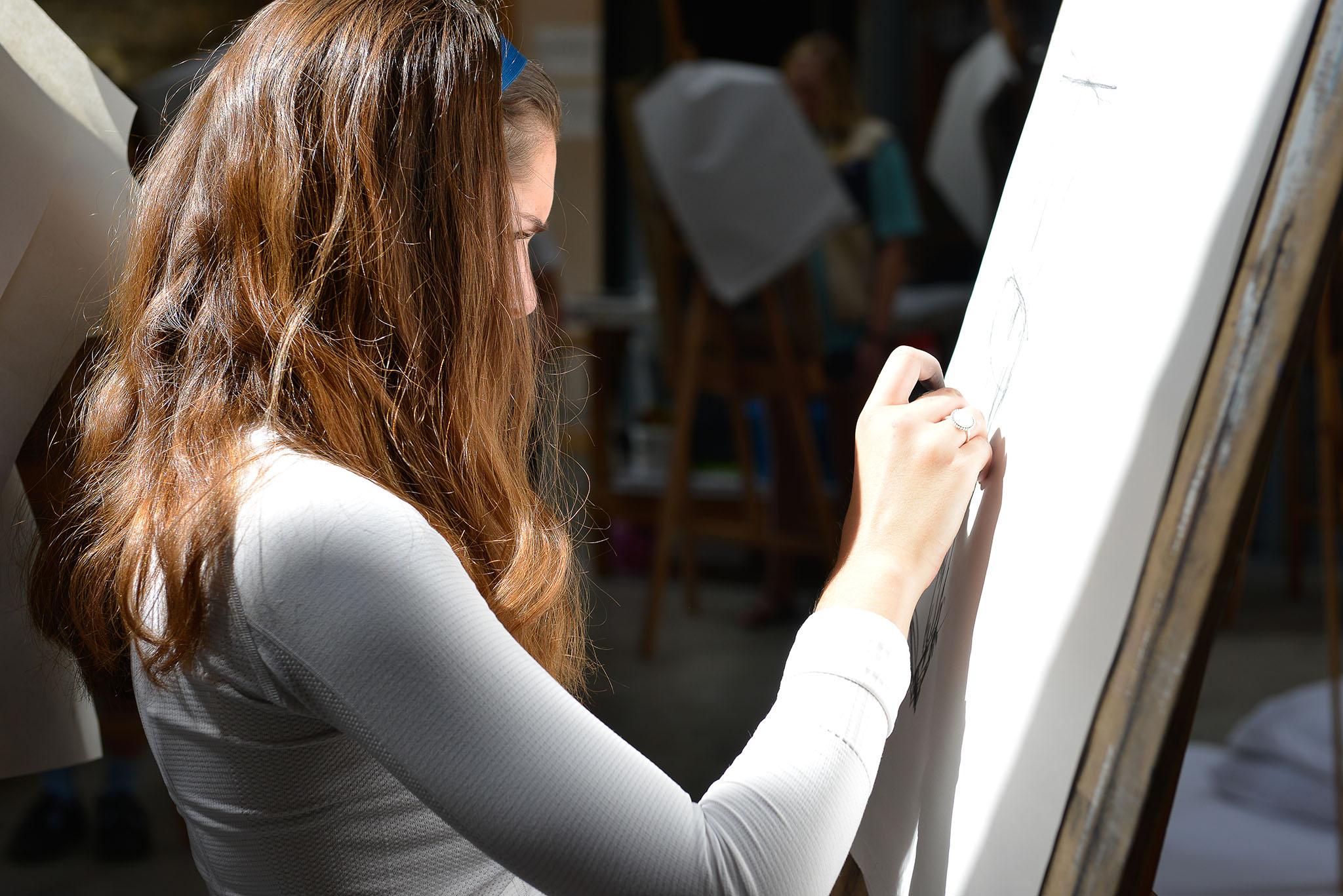 Gap Year Program - Cow House Studios: FieldWorks Gap Year Art Program  2