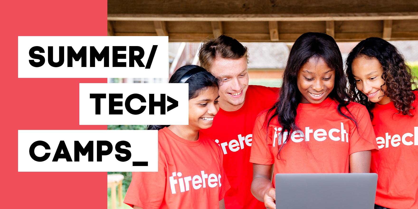 Fire Tech: UK's Leading Online Tech Camp for Teens