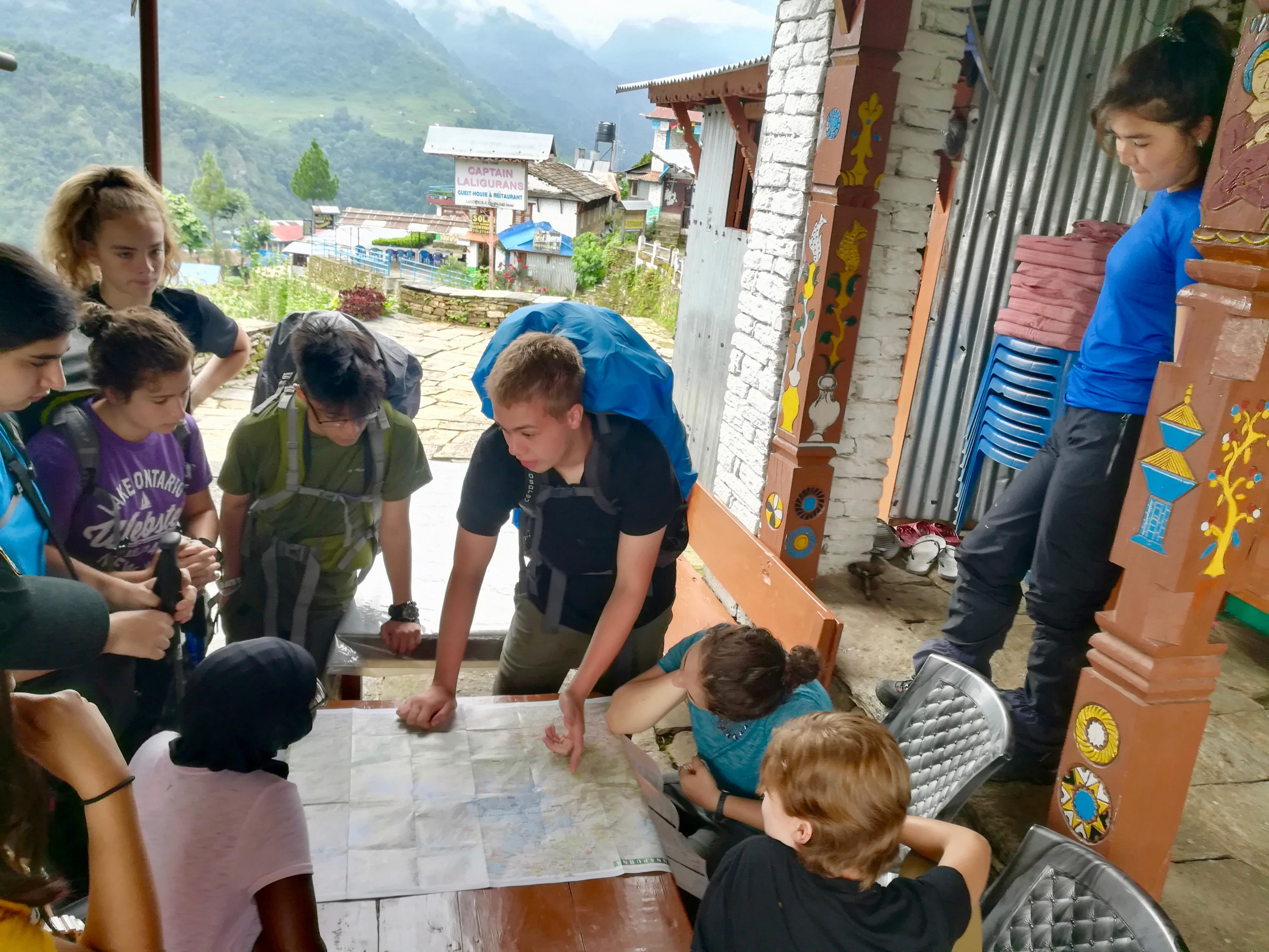 Summer Program - Multi-Sport | Global Routes: Nepal. The Roof of the World. Service and Cultural Immersion.