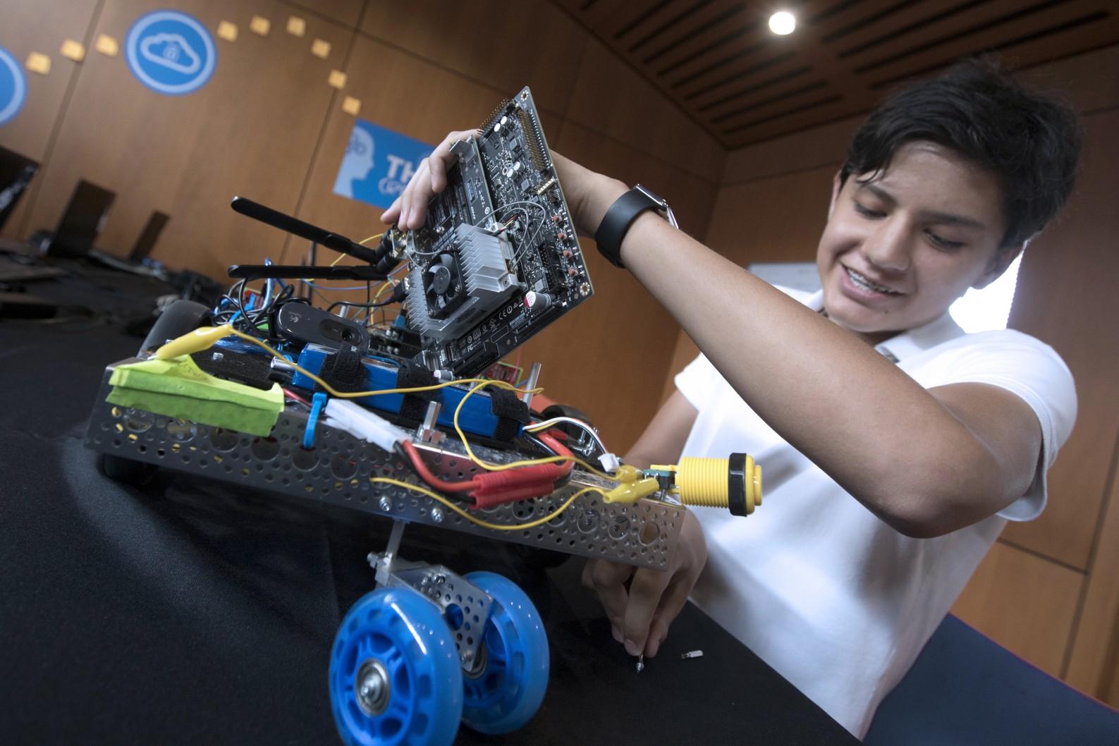 iD Coding & AI Academy | Held at UCLA