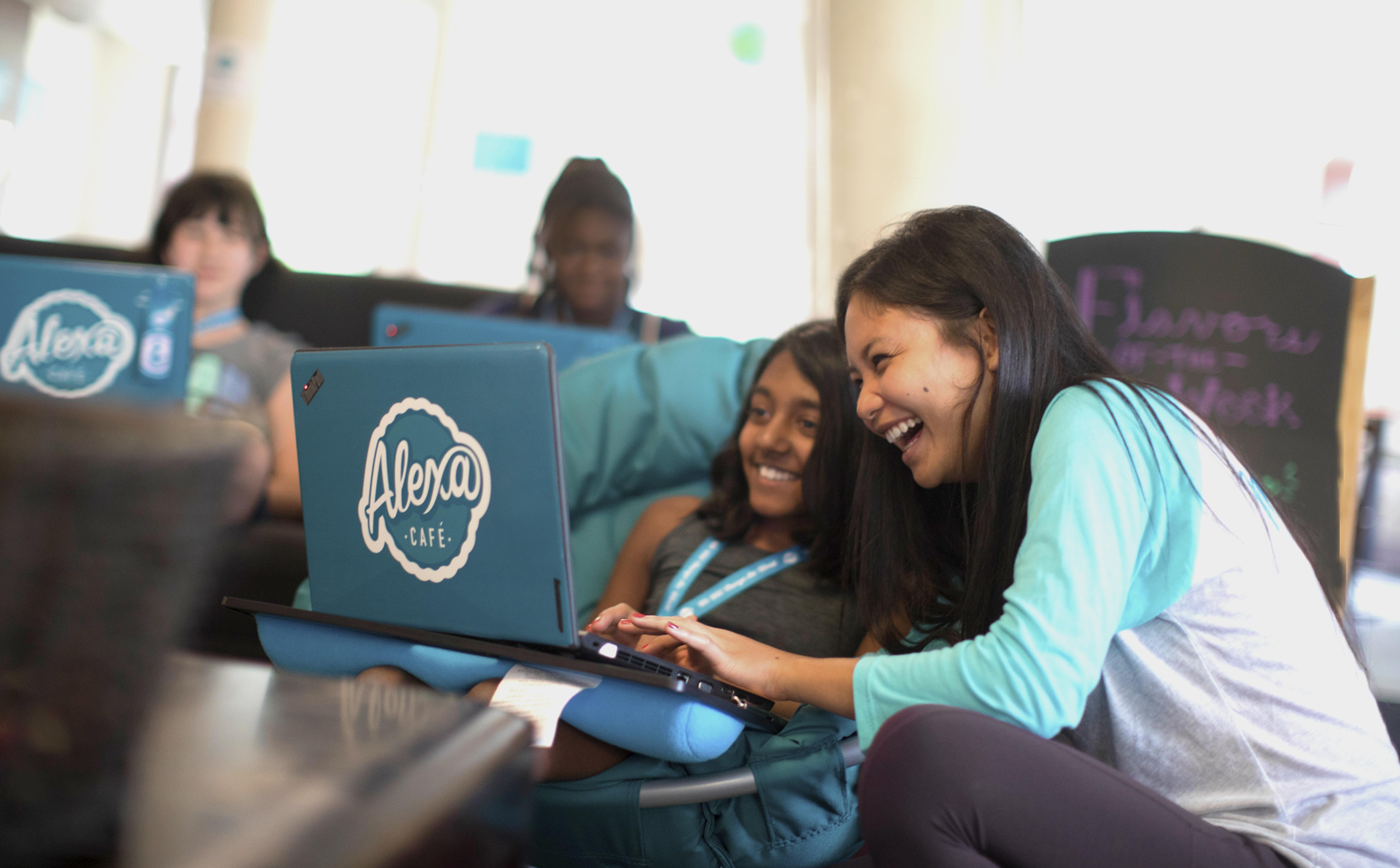 Summer Program - Computer Science | Alexa Cafe: All-Girls STEM Camp | Held at Kent Place School