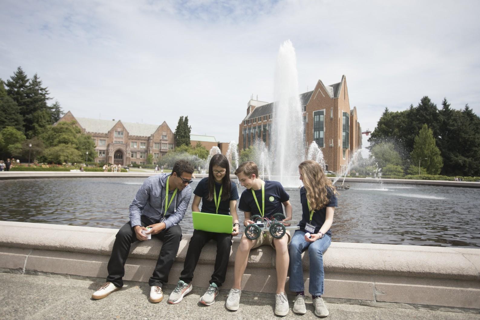 Summer Program - Electronics | iD Tech Camps | Held at Trinity University