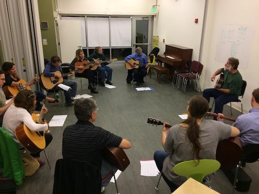 Washington Conservatory of Music: Intermediate Acoustic Guitar