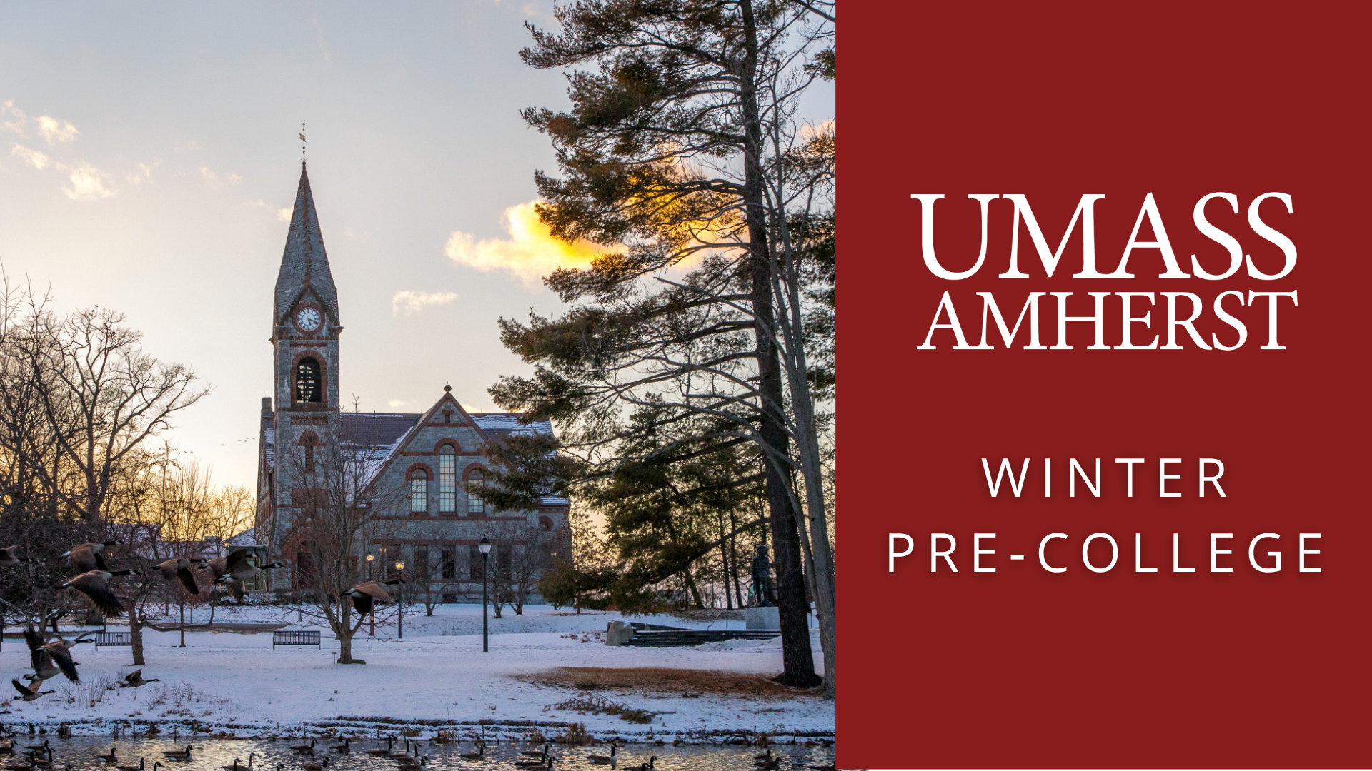 UMass Amherst Winter Pre-College: Intro to Research in Psychology