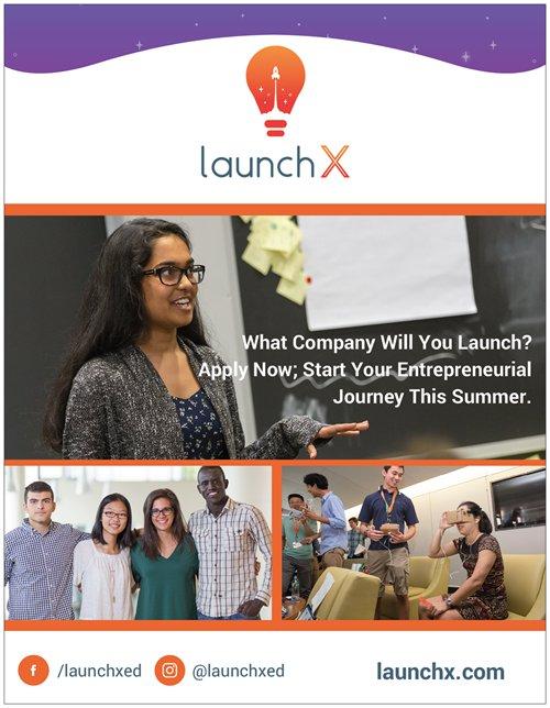 Summer Program - Entrepreneurship | LaunchX Entrepreneurship Program