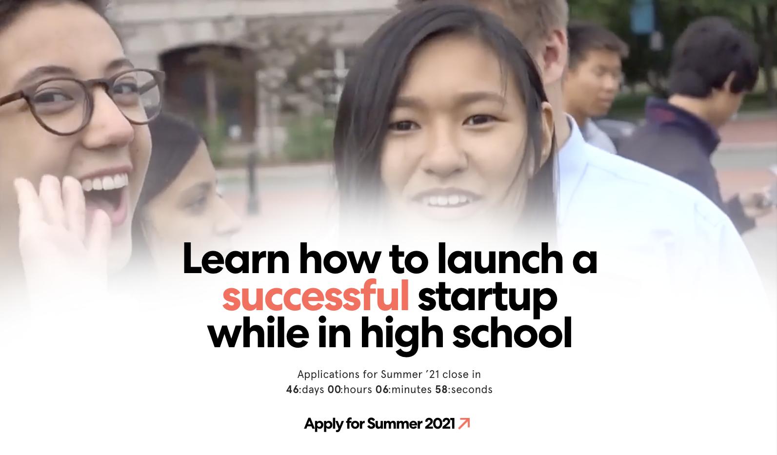 Leangap – Summer High School Entrepreneurship & Technology Program